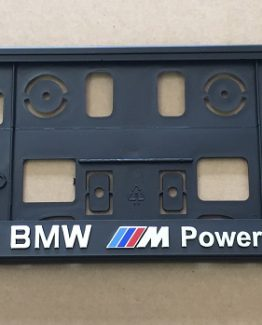 Kentekenplaathouder BMW M power