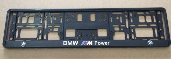 Kentekenplaathouder BMW M power