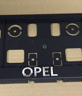 Kentekenplaathouder Opel OPC