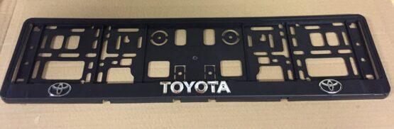 Kentekenplaathouder Toyota