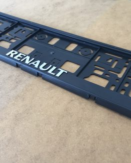 Kentekenplaathouder Renault
