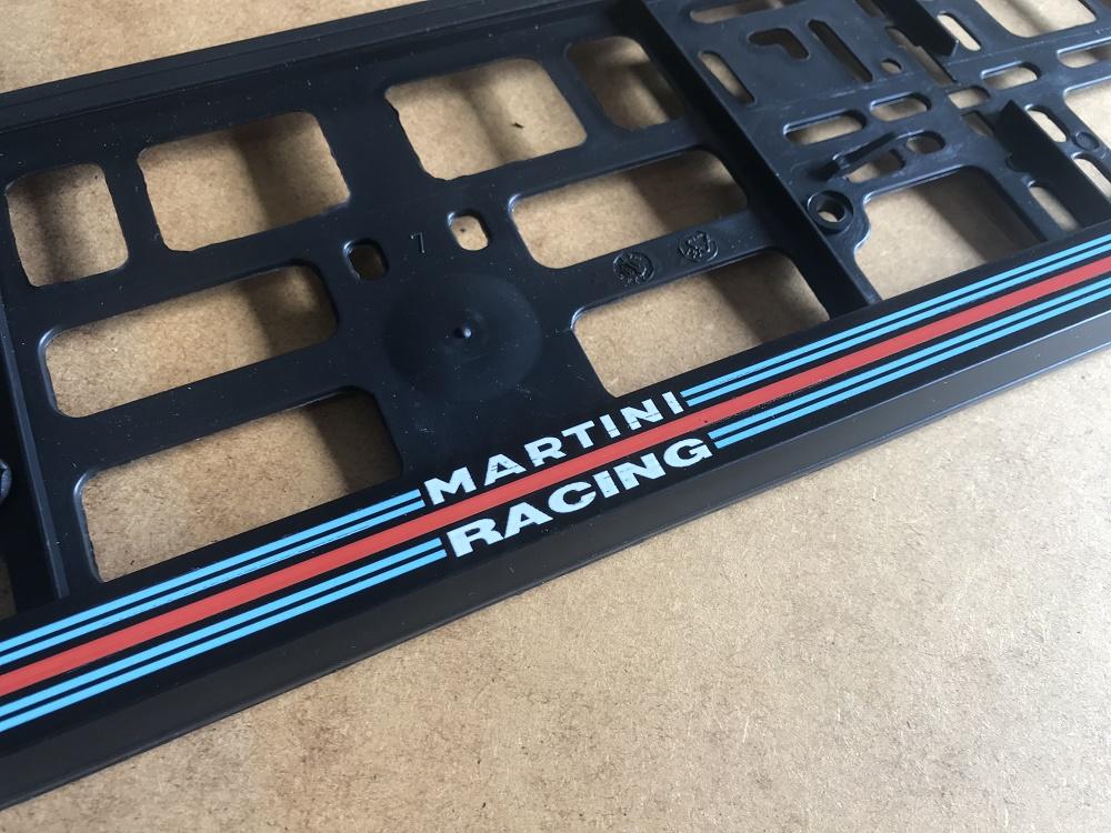 Kentekenplaathouder Lancia Martini Racing