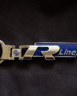 Sleutelhanger Volkswagen R-line blauw