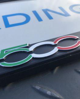 Kentekenplaathouder Fiat 500