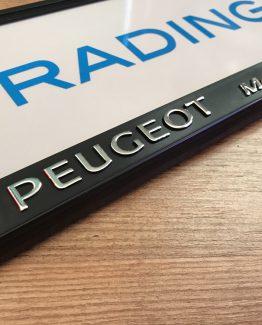 Kentekenplaathouder Peugeot Motion & Emotion