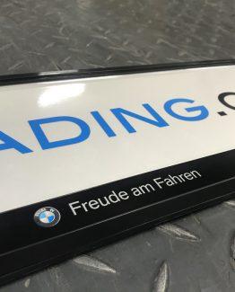 Kentkenplaathouder BMW Freude am Fahren