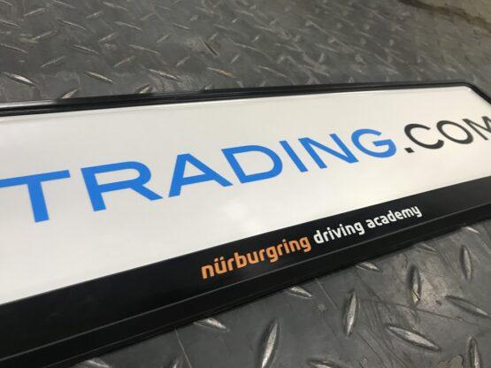 Kentkenplaathouder Nürburgring Driving Academy