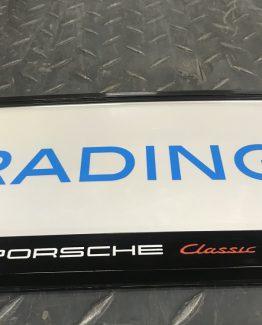 Kentekenplaathouder Porsche Classic