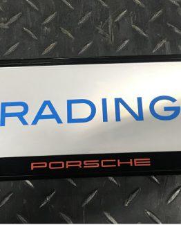 Kentkenplaathouder Porsche Rood